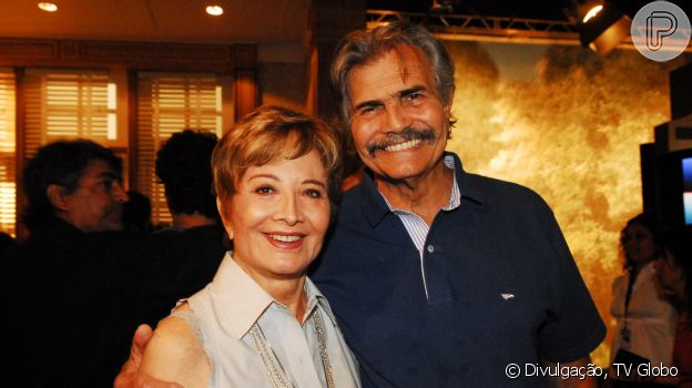 Tarcísio Meira e Glória Menezes contracenaram em 'A Favorita', de 2008