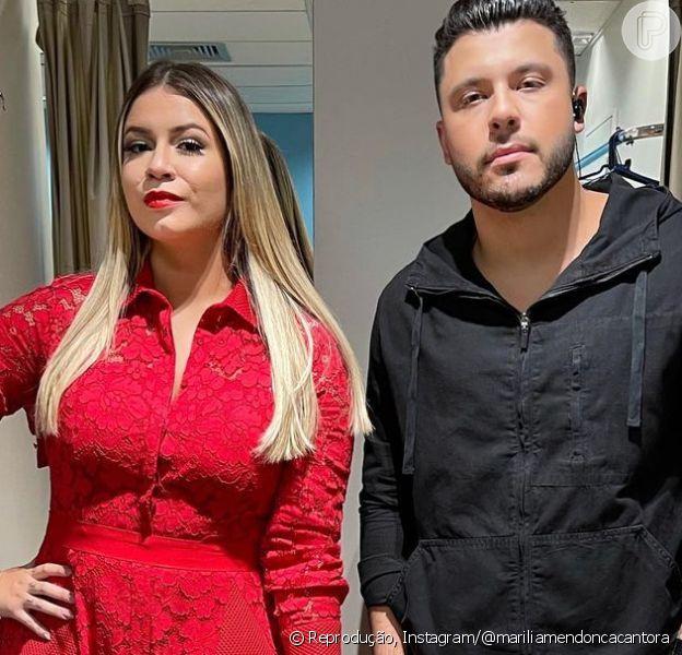 Marília Mendonça mostra viagem romântica com Murilo Huff e anima fãs: 'Irmã do Léo vem'