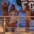 Anitta se apresentou com Daniela Mercury no Carnaval 2014