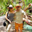 Marília Mendonça e Murilo Huff estão hospedados em Cancún