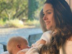 Fernanda Machado relata experiência com amamentação do filho caçula: 'Inúmeras dificuldades'