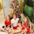 Luciano Huck é pai de  Joaquim, de 16 anos, Benício, de 13, e Eva, de 8