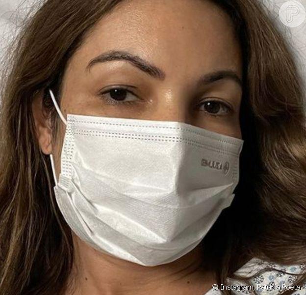 Patrícia Poeta está internada há uma semana, após sofrer cirurgia de emergência