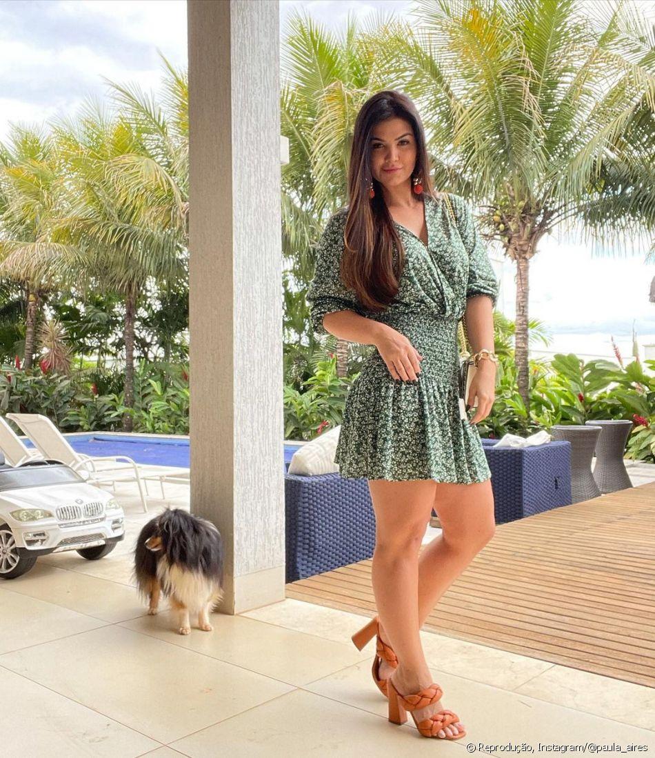 Mulher de Matheus Aleixo, Paula Aires é influencer digital
