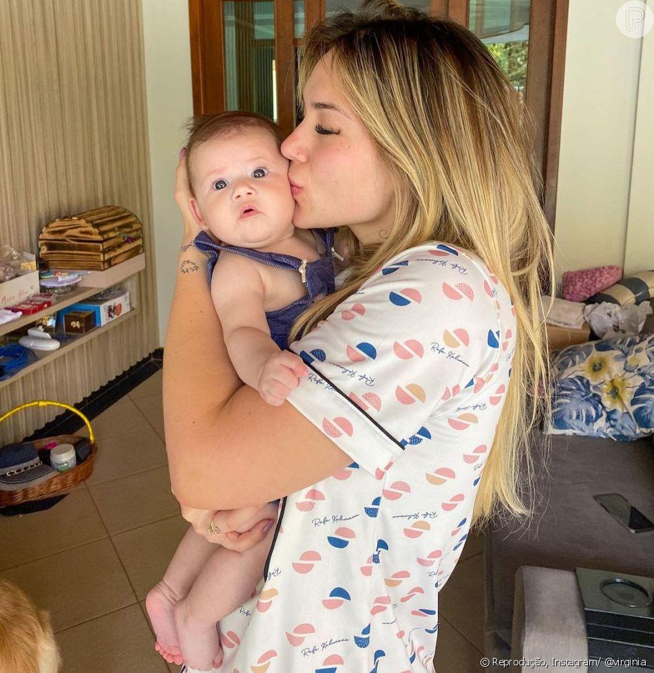 Os vídeos da filha de Virginia e Zé Felipe encantam os seguidores do casal