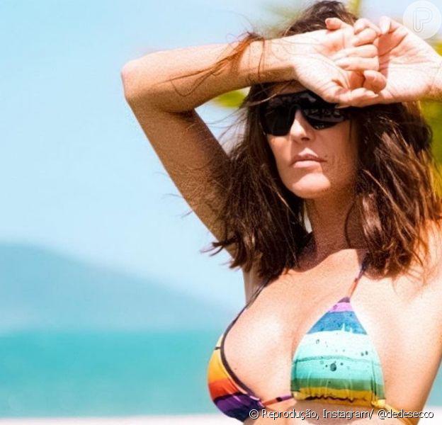 Deborah Secco é uma apaixonada por moda praia