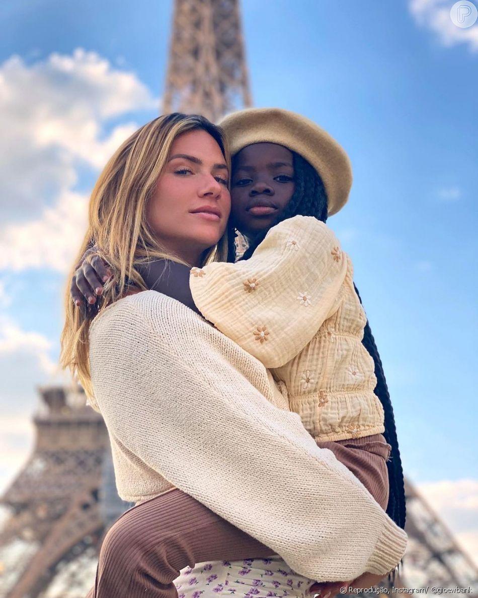 Giovanna Ewbank compartilhou momentos divertidos ao lado dos filhos em Paris