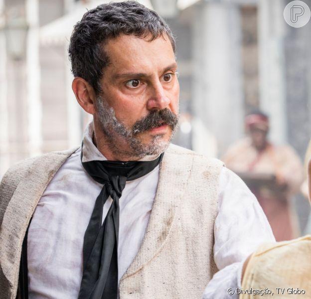 'Nos Tempos do Imperador': Tonico (Alexandre Nero) vai rejeitar o pedido de casamento de Pilar (Gabriela Medvedovski) para prejudicar a irmã da médica, Dolores (Daphne Bozaski)