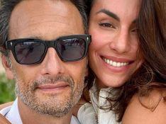 Rodrigo Santoro e Mel Fronckowiak surgem em foto rara de casal e empolgam fãs: 'Se completam'