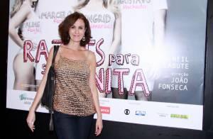 Em novo tratamento contra câncer, Márcia Cabrita retorna ao 'Sai de Baixo'