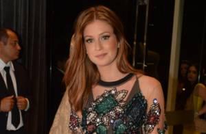 Marina Ruy Barbosa pede vestido de noiva à mãe em loja: 'Quero me casar com ele'