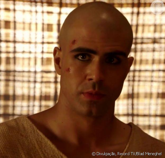 'Gênesis': Kaires (Diogo Salles) revela a José (Juliano Laham) que Asenate (Letícia Almeida) está na mira de atentado