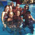Caio Castro curte férias em Aruba com amigos, sem Maria Casadevall