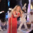 Mariah Carey cantou 'All I Want For Christmas Is You' na cerimônia