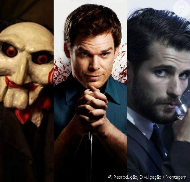 Relembre em nossa galeria de fotos os mais peversos serial killiers da TV e do cinema!