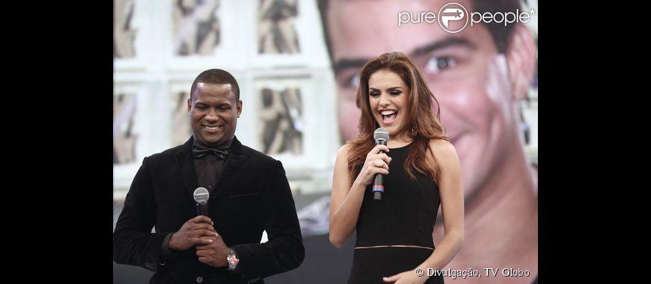 Paloma Bernardi recebeu recado carinhoso do namorado, neste domingo, 7 de dezembro de 2014