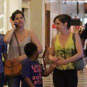 Drica Moraes faz primeira aparição pública após afastamento da novela 'Império'