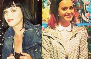Katy Perry muda visual mais uma vez e adota cabelos vermelhos