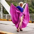 Claudia Raia está no ar como a trambiqueira Samantha, na novela das sete 'Alto Astral'