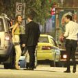 Nathalia Dill chega a restaurante onde jantou com Sergio Guizé