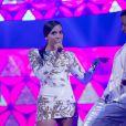 Anitta participa da gravação do 'Caldeirão de Ouro', especial de fim de ano do 'Caldeirão do Huck'