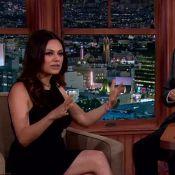 Mila Kunis dá entrevista pela 1ª vez após nascimento da filha: 'Ela se move'