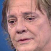 'Domingão do Faustão': Fábio Jr. se emociona e chora ao cantar a música 'Pai'