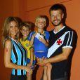 Fernanda Lima e Rodrigo Hilber são pais dos gêmeos João e Francisco