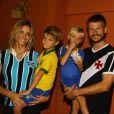João e Francisco, filhos de Fernanda Lima e Rodrigo Hilbert, comemoraram 6 anos de vida em abril de 2014