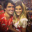 Luigi Cardoso é o pai de Valentina, filha de Carol Francischini. Ele é casado com a blogueira Lala Rudge (na foto). A informação é da coluna de Leo Dias, em 24 de março de 2013