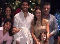 Kaká passa Natal ao lado de Carol Celico e dos filhos após término do casamento
