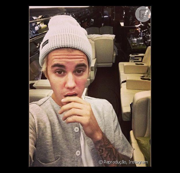 """Justin Bieber se presenteia no Natal com jatinho avaliado em R$ 120 milhões, estimula o site """"TMZ"""", desta sexta-feira, 26 de dezembro de 2014"""