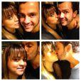 Preta comemorou o aniversário de Carlos Henrique e publicou uma montagem no Instagram, em 5 de dezembro de 2012