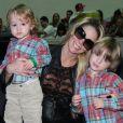 Danielle Winits é mãe de dois meninos: Noah, de 5 anos, e Guy, de 1 ano e 7 meses