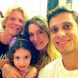 Leticia Spiller manda parabéns à filha, Stella, por aniversário de 4 anos, completados em 20 de janeiro de 2015