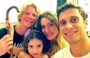 Leticia Spiller parabeniza a filha, Stella, por aniversário de 4 anos: 'Anjo'