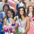 Colombiana Paulina Vega vence concurso Miss Universo 2014, em Miami, em 26 de janeiro de 2015