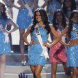 A cearense Melissa Gurgel representante do Brasil, ficou entre as 15 finalistas do concurso Miss Brasil 2014