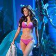 Mary Jean Lastimosa representante das Filipinas, ficou entre as dez mais no concurso Miss Universo 2014