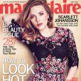 Scarlett Johansson posa para a capa da revista 'Maria Claire' e fala sobre superar seu divórcio com o ator Ryan Reynolds, na edição de maio de 2013