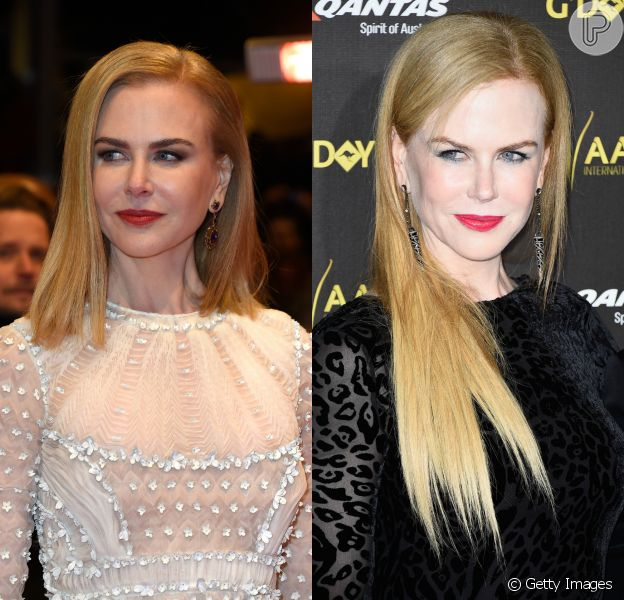 Nicole Kidman exibe novo visual ao lado de James Franco em première de filme em Berlim, na Alemanha, nesta sexta-feira, 6 de fevereiro de 2015