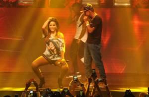 Anitta rebola até o chão durante show com Nego do Borel, no Rio: 'Lindo demais'