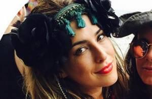 Carnaval 2015: Fernanda Paes Leme curte folia fantasiada. 'Bloco de rua'