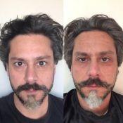Confira Alexandre Nero antes e depois de usar maquiagem na novela 'Império'