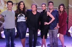Thiaguinho e Paulo Ricardo são os novos jurados da 2ª temporada do 'SuperStar'