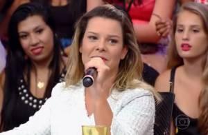 'Na hora vai dar até vontade de vomitar', diz Fernanda Souza sobre o casamento