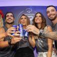 Na sexta-feira, Giovanna Ewbank  curtiu o Carnaval com os amigos famosos  Caio Castro  ,  Fernanda Paes Leme  ,  Thaila Ayala  e Felipe Tito , 14 de fevereiro de 2015