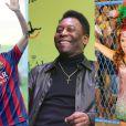 Neymar e Pelé serão enredo da Grande Rio no Carnaval 2016, enquanto Paloma Bernardi desfilará como rainha de bateria da agremiação