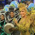 Claudia Leitte foi confirmada como rainha de bateria da Mocidade no Carnaval 2016