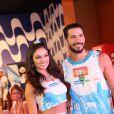 Isis Valverde declarou que quer desfilar na Sapucaí no Carnaval 2016